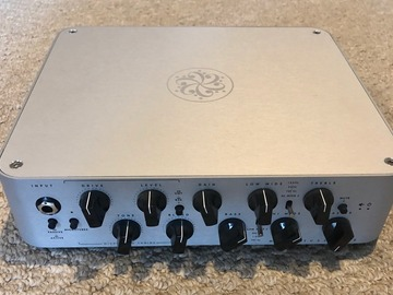 Renting out: Darkglass MicroTubes 900 V2 Bass Head