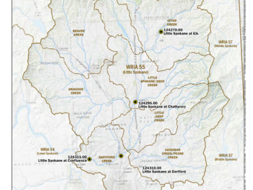 Water Right Buyer: Little Spokane Watershed Planning Mitigation Acquisitions