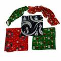 Buy Now: Christmas-Themed Scarf Bandanas – 100% Polyester