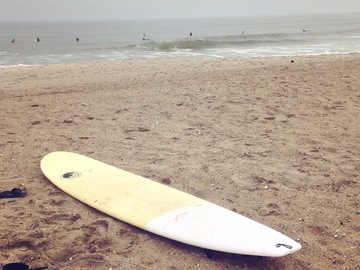 For Rent: 8'6 Epoxy Longboard With Bag and Leash