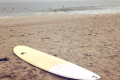 Rental: 8'6 Epoxy Longboard With Bag and Leash