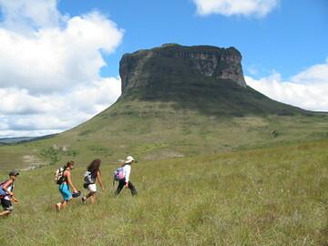 Réserver (avec paiement en ligne): Traversée du Parc National de Lençois à Capão - Brésil