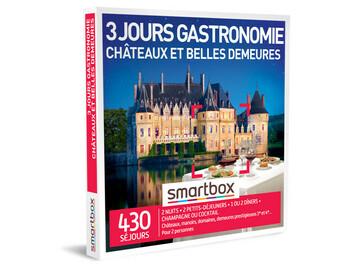 """Vente: e-Smartbox """"Gastronomie Châteaux et Belles Demeure"""" (299,90€)"""