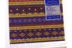 Buy Now: 72 packages - 8.3 Sq. Ft. Of Feliz Navidad Hispanic Gift Wrap