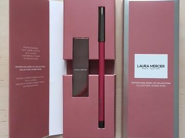 Venta: Laura Mercier Efortless Rose Lip Collection- Certificado Incluido