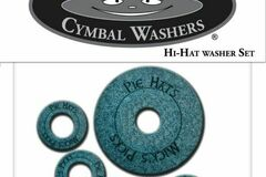 Selling with online payment: Pie Hat hi-hat washer set. 1 seat & 4 clutch,  FREE SHIPPING