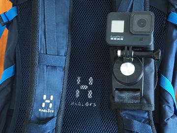Uthyres (per vecka): GoPro 8 kypäräkamera + 128 Gb muistikortti