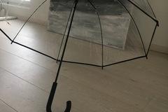 Ilmoitus: 2x käyttämätön sateenvarjo