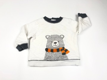 Selling with online payment: Polar bear jumper, age 9-12 Mths