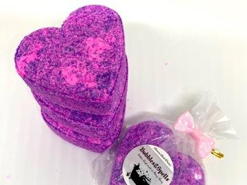 : Bubble Bath Heart ( set of 2 hearts)