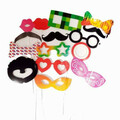 Buy Now: 40 Packs - Pack Of 15 Funny Photo Booth Prop Stick Masks