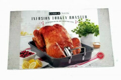 Buy Now: (12) - Cobble Creek Turkey Cannon Infusion Roaster Indoor/Outdoor