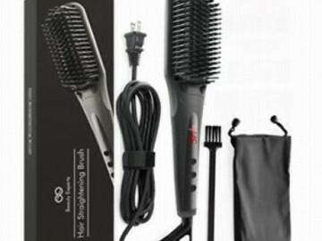 Buy Now: Beauty Experts – Ceramic Hair Straightening Brush – Iron Brush St
