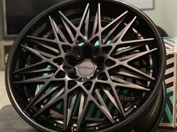 Selling: Rotiform QLB forged  3pieces wheels 5x112 21x10.5