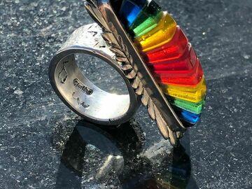 Selling: Rainbow Earrings