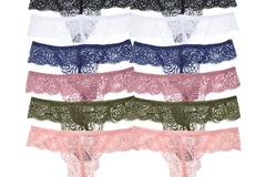 Buy Now: Angelina Floral Lace G-String Panties lOT OF 144 PAIRS-NEW IN BOX