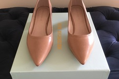 Selling: Nude Balloon Heel Pump Size 39