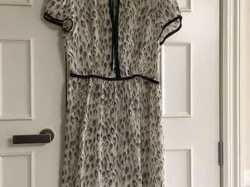 Selling: Feather Print Dress
