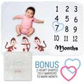 Buy Now: BRAND NEW Monthly Milestone Blankets