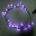Buy Now: Battery Operated LED Pink Cherry Blossom Flower Garland – Item #L