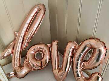 Ilmoitus: Love ilmapallo