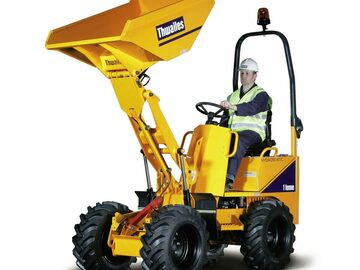 Weekly Equipment Rental: 1ton high tip dumper