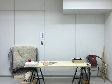 Renting out: Space available in Artists Studio