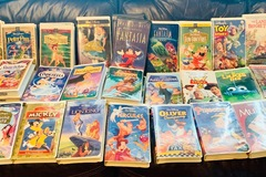 Buy Now: Mixed lot of gently used Disney Classic VHS movies!!
