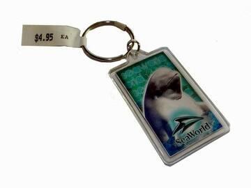 Buy Now: SeaWorld Beluga Whale Acrylic Keychains