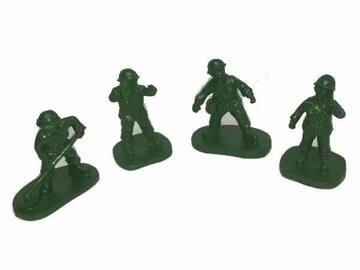 Buy Now: 48 Pieces Aquatic Creations Green Soldier Men Aquarium Ornament