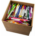 Buy Now: 1000 Pens - Assorted Quality Blank Plastic Retractable Pens