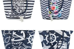 Buy Now: Moda West Anchor Bulk Tote Bags in 24 Assorted Prints - NEW