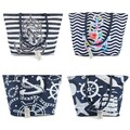 Buy Now: Moda West Anchor Bulk Tote Bags in 4 Assorted Prints - NEW