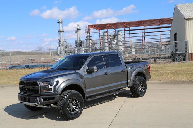 raptor ford custom paint wheels fuel svt lift raptors