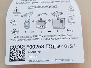 Gebruikte apparatuur: Spoelnaald (F00253)