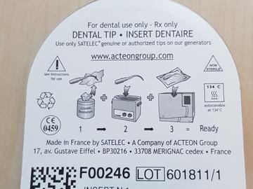 Gebruikte apparatuur: Spoelnaald (F00246)