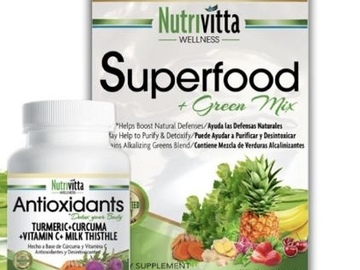 Selling Products: Nutrivitta 2 Month Treatment (Superfood Pack + Capsules)