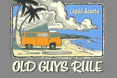 Buy Now: OLD GUYS RULE LIQUED ASSETS 48 TOTAL 12 M, 12 L, 12 XL 12 XXL