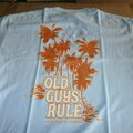 "Buy Now: OLD GUYS RULE 48 ""ON PERMANENT VACATION"" 12 M, 12 L, 12 XL, 12 XX"