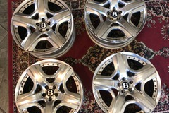 "Selling: 2012-1018 Two Piece 21"" Bentley Rims"