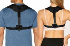 Buy Now: 24 braces  -Unisex Back Brace Posture Corrector – Assorted Sizes