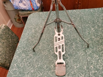 Selling with online payment: Rogers Swivomatic 4401 vintage hi hat stand, lower price!