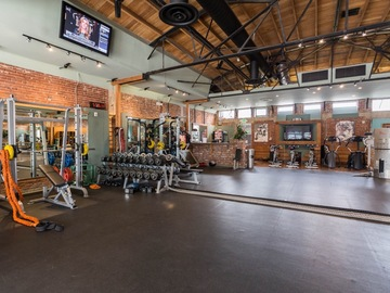List a Space: Industrial luxury fitness facility space for rent