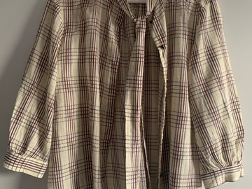 Selling: Plaid shirt (Spring 2019)