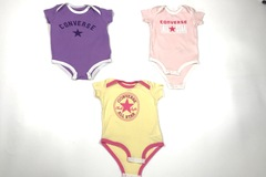 Selling with online payment: Converse Girls, 3-6 Mths Bundle