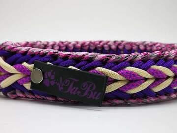 Produkt: Halsband aus Paracord 30 bis 39 cm