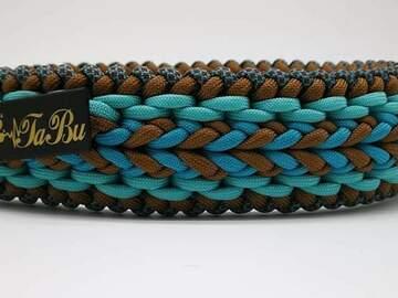 Produkt: Hundehalsband aus Paracord 40 bis 49cm