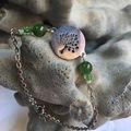 Vente au détail: Bracelet arbre de vie et Jade