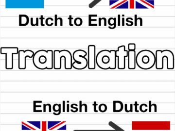 Advertentie: Translator - ENG/NL - NL/ENG - Copywriting/listing/website
