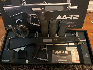 Selling: Tokyo Marui AA12 Like New With Extras!